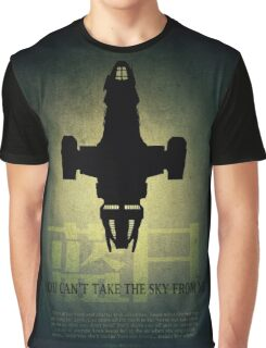 Firefly You Can't Take the Sky From Me Graphic T-Shirt