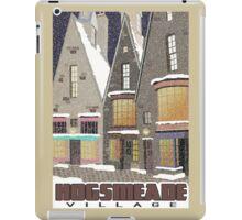Hogsmeade Village Travel Poster iPad Case/Skin