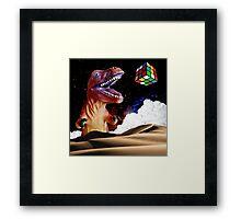 T. Rubix Framed Print