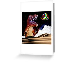 T. Rubix Greeting Card
