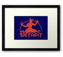 Spirit of Mickey - Detroit Tigers Edition Framed Print