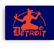 Spirit of Mickey - Detroit Tigers Edition Canvas Print