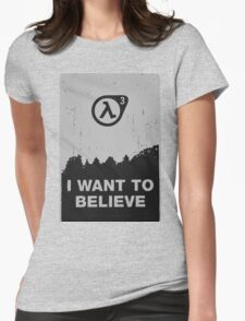 Half Life 3 Womens Fitted T-Shirt