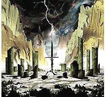 The Sword - Gods of the Earth Photographic Print