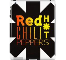 Red Hot chili peppers yellow shine iPad Case/Skin