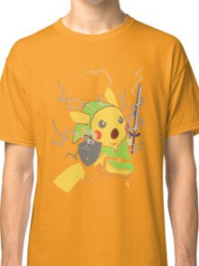 Funny Pokemon T-Shirt Adult BLUE - Male Medium - Baby Blue Classic T-Shirt