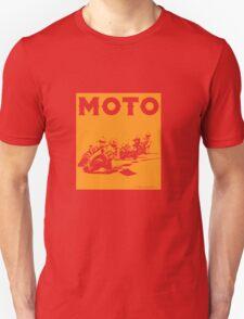 Moto-Orange Unisex T-Shirt