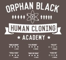 Orphan Black Academy by geekmonkey