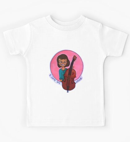 The Young Cellist Kids Tee