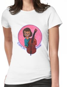 The Young Cellist Womens Fitted T-Shirt