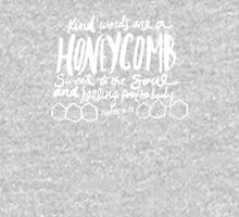 Honeycomb Proverbs x Mustard Pullover