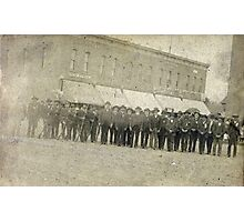 1898, Grand Army of the Republic, Marion County, Ohio Photographic Print