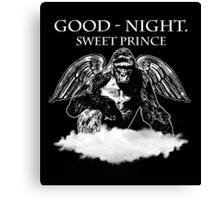 Good Night, Sweet Prince Harambe Canvas Print