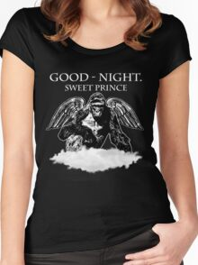 Good Night, Sweet Prince Harambe Women's Fitted Scoop T-Shirt