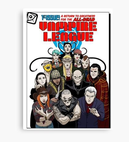 VAMPIRE LEAGUE Canvas Print