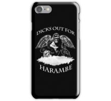 Dicks Out For Harambe 2016 iPhone Case/Skin