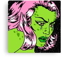 Lizard Lady Tears Canvas Print