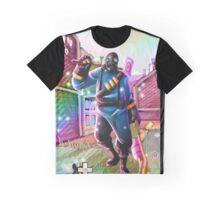 TF2 Pyro Happy Graphic T-Shirt