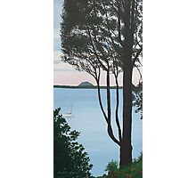 View from Omokoroa Point, New Zealand Photographic Print