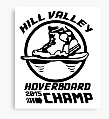 Hoverboard Champion Canvas Print