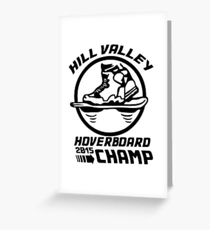 Hoverboard Champion Greeting Card