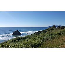 Oregon Coast Rock Formation Photographic Print