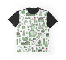 Cacti Fields Graphic T-Shirt