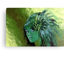 greenlady Canvas Print