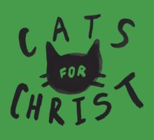 Cats for Christ One Piece - Short Sleeve