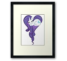 Heart Of Rarity Framed Print