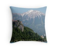 Slovenia Beauty Throw Pillow