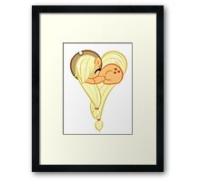 Heart Of AppleJack Framed Print