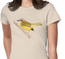 Rufous-capped Warbler Womens Fitted T-Shirt