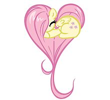 Heart Of Fluttershy Photographic Print