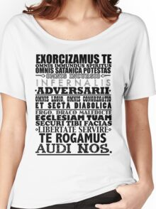 Exorcism Chant Women's Relaxed Fit T-Shirt