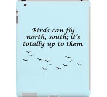 Neature Walk: Birds iPad Case/Skin