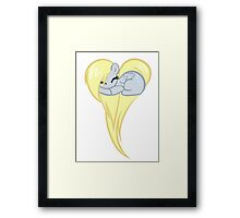 Heart Of Derpy Framed Print