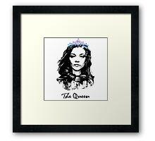 Natalie Dormer / The Queen Framed Print
