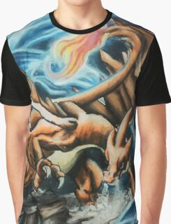 Mega Charizard Graphic T-Shirt