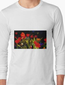 At Rest Among The Tulips Long Sleeve T-Shirt