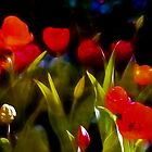 At Rest Among The Tulips by Ian Mooney