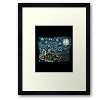 Starry Labyrinth Framed Print
