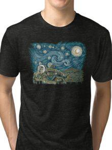 Starry Labyrinth Tri-blend T-Shirt