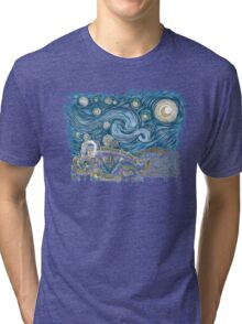 Starry Labyrinth Tri-blend T-Shirt