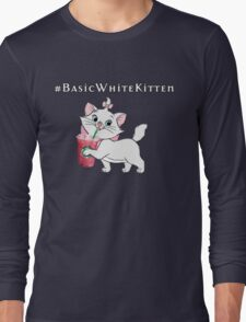#Basic White Kitten - The Aristocats Long Sleeve T-Shirt
