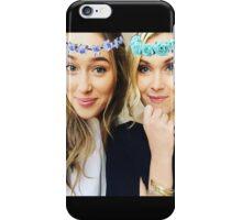 Elycia Flower Crown  iPhone Case/Skin