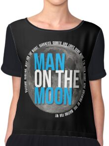Man On The Moon Chiffon Top