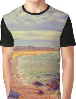Serene Beach Graphic T-Shirt