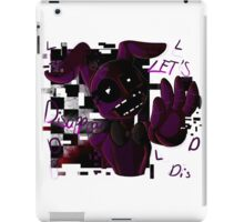 Lets Disappear iPad Case/Skin