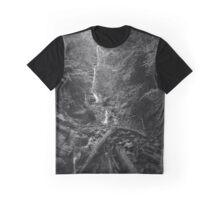 Mingo Falls - Blue Ridge Mountains Graphic T-Shirt